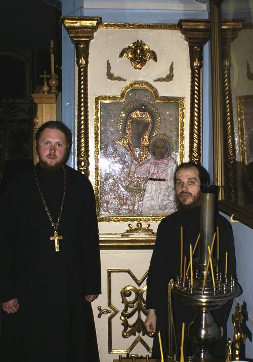 С иеродаконом Василием из Святогорского монастыря