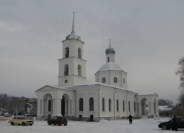 Троицкий собор г. Острова.