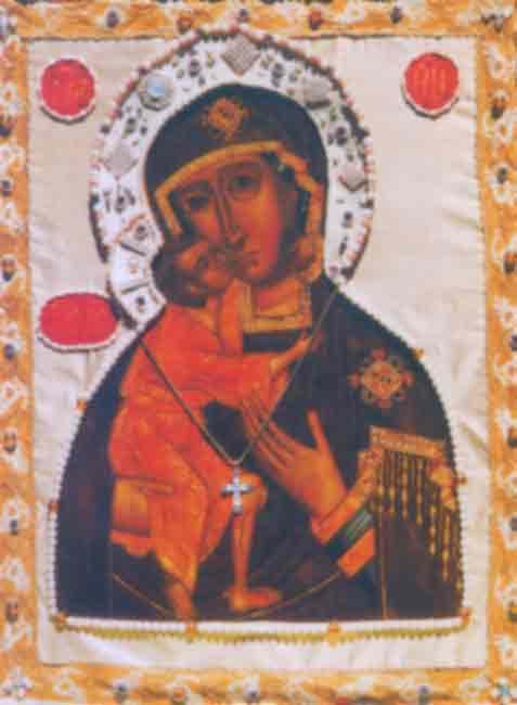 Икона П.Б. Феодоровская, Святогорского монастыря Псковской епархии
