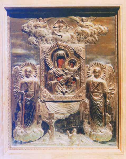 Икона П.Б. Одигитрия Святогорская, Святогорского монастыря Псковской епархии